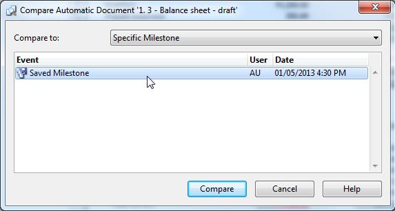 milestone document