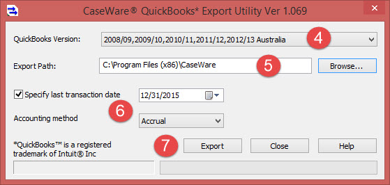 Importing from QuickBooks Canada / AUS / UK (2008 or Later)